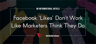 Facebook 'likes' don't work like marketers think they do