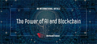 The Power of AI and Blockchain