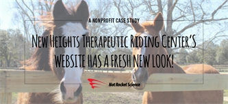 Website Redesign Case Study: New Heights Therapeutic Riding Center
